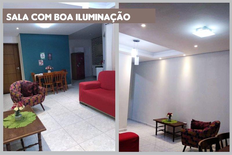 Casa Inteira Completa - 2 quartos - Vila Sossego - Com Garagem, alquiler vacacional en Ilha Comprida