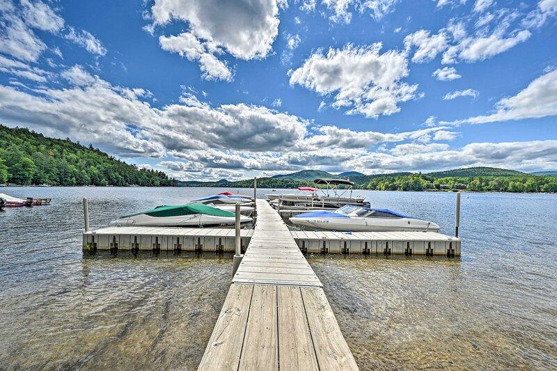 Have fun on Schroon Lake!