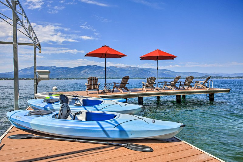 NEW! Sandpoint Waterfront on Lake Pend Oreille!, vacation rental in Kootenai