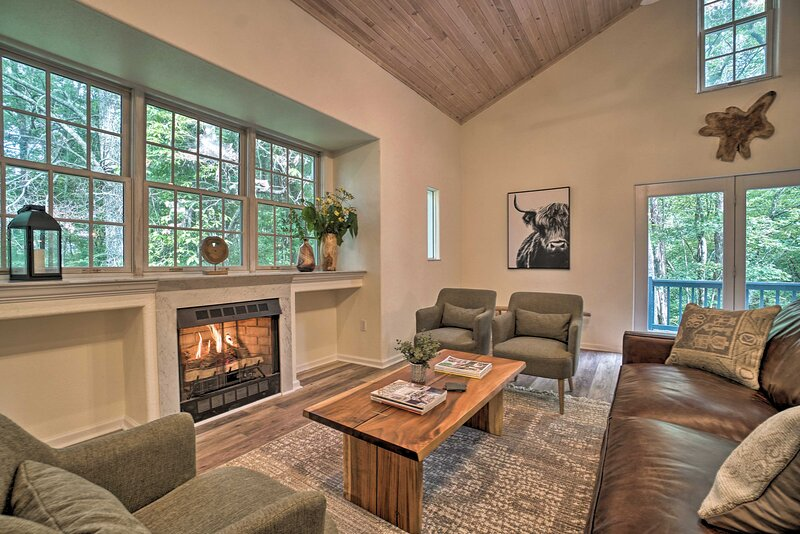 NEW! Inviting Home 2 Mins from Mud Creek Waterfall, holiday rental in Sky Valley