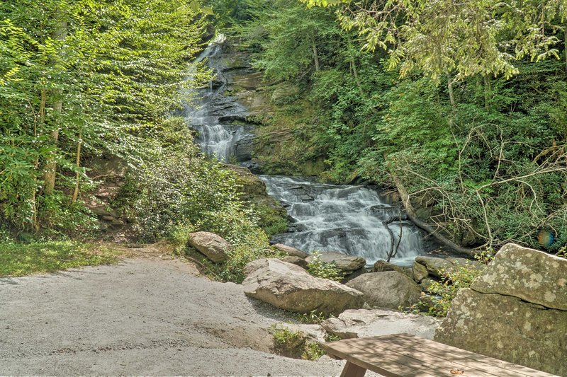 Look forward to chasing waterfalls on your hiking adventures.