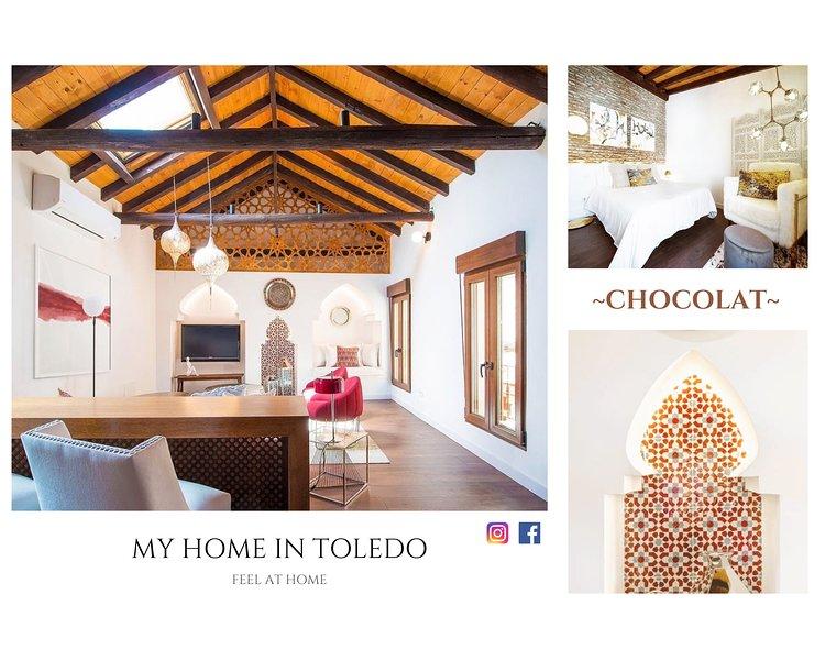~CHOCOLAT~ Casa individual en pleno centro., vacation rental in Sonseca