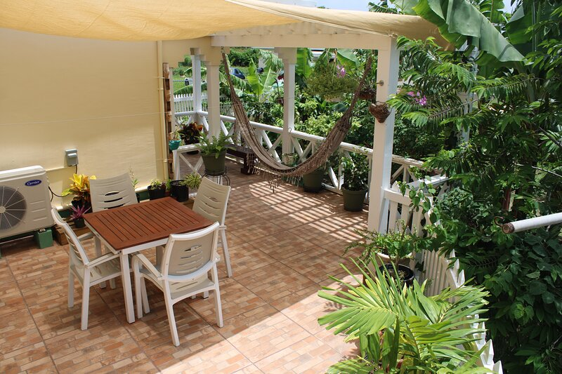 Tropical Garden Cottage Antigua, holiday rental in Seatons