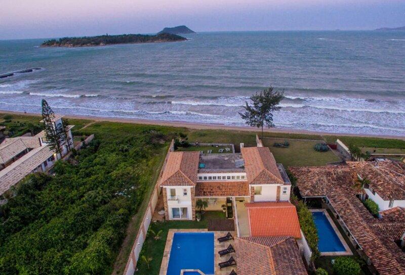 Exclusiva Vila Mar de fondo, alquiler vacacional en Búzios