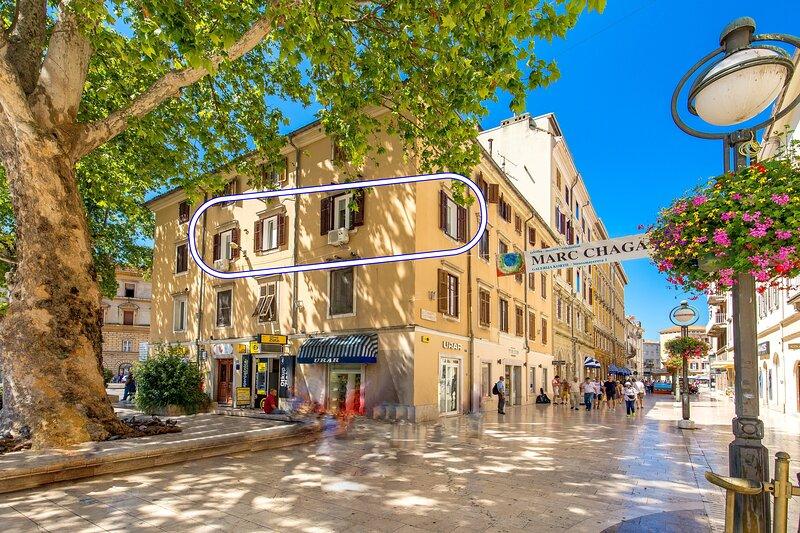 InCenter apartments Rijeka 2, location de vacances à Rijeka