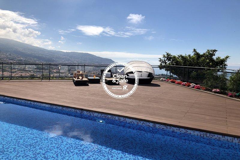 Villa Beausoleil by Madeira Sun Travel, holiday rental in Estreito de Camara de Lobos