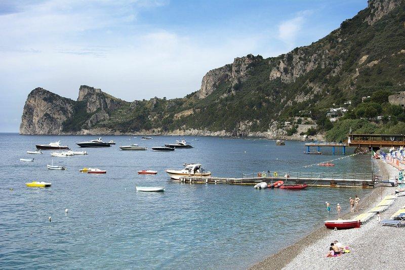La Casa Sul Mare Delle Sirene, holiday rental in Sirenuse