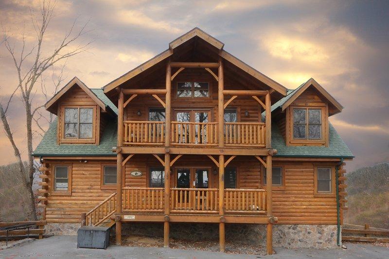 Building,House,Cabin,Log Cabin,Porch