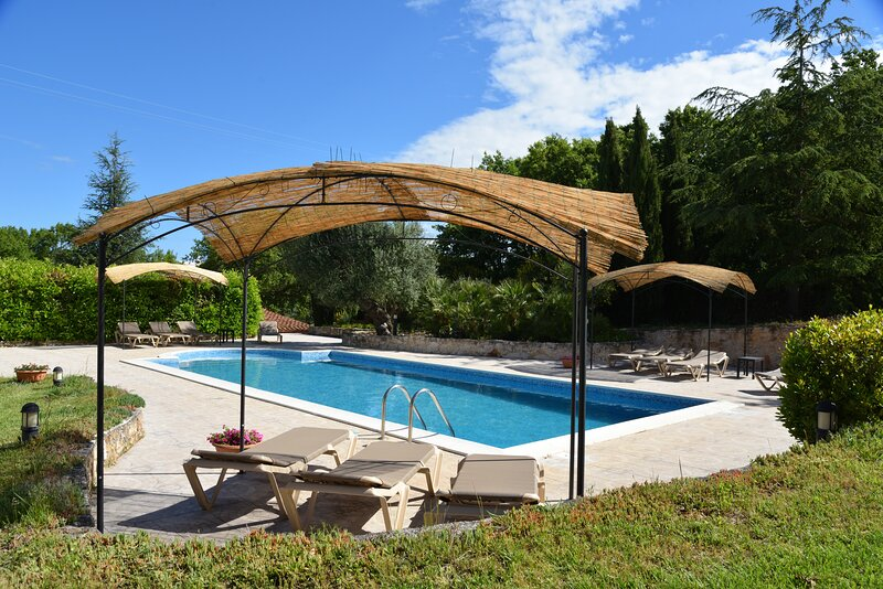 Lovely Trullo with great Pool, Jacuzzi wifi garden, holiday rental in Crispiano