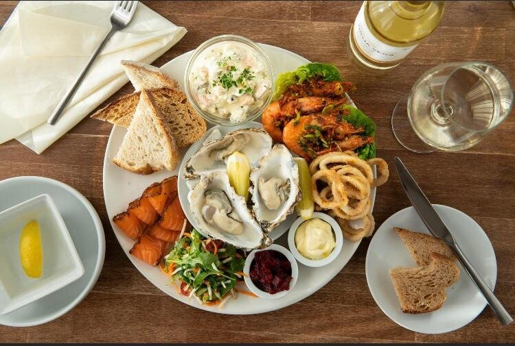 Our popular & delicious seafood platter