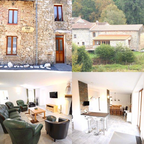 CHUI GITE 87290 SLEEPS 8,  4 BEDROOMS, 3 BATHROOMS SPACIOUS & ELEGANT PROPERTY, holiday rental in Saint-Sornin-Leulac