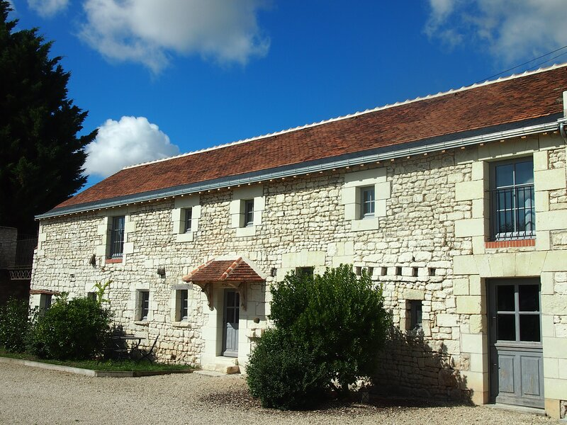Autre vue de la maison d'hôtes du Domaine de Basse Chancelée.