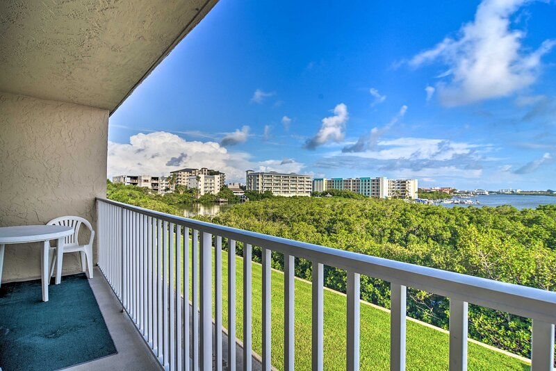 Enjoy wonderful views from your private balcony!