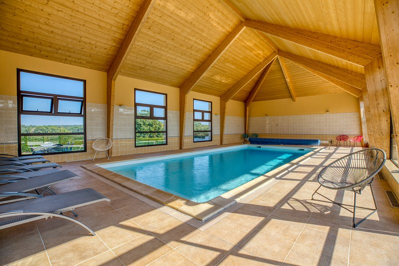 Amazing house with swimming-pool, vacation rental in Faverolles