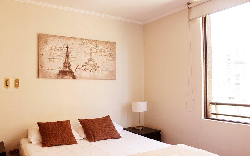 Apartamentos Costanera Centre -Estudio- (606), alquiler de vacaciones en Santiago