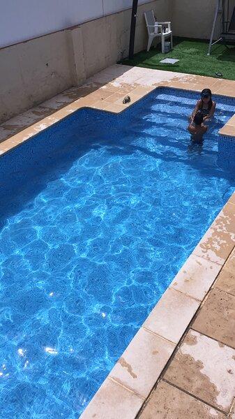 Casa con gran piscina particular cerca playa, casa vacanza a Bonastre