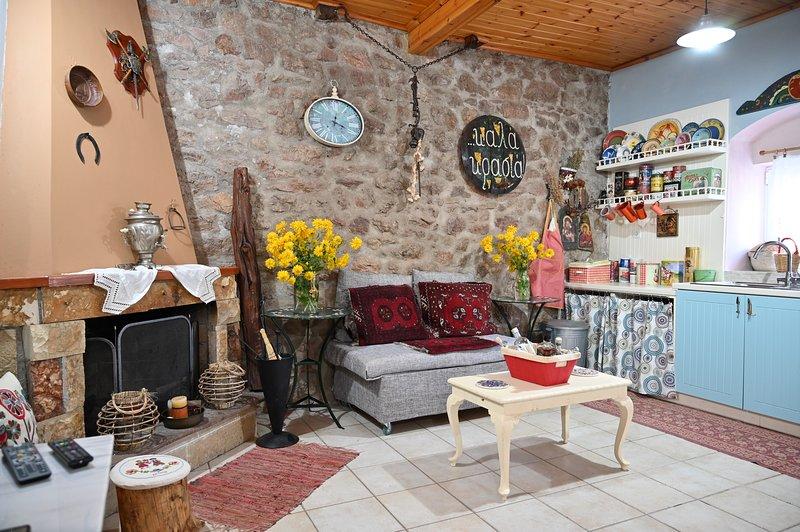 Kalavrita Winter Retreat - Homely Spacious Chalet, holiday rental in Kalavrita