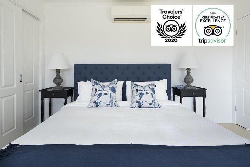 Hunter Valley Accommodation - Villa Siena - Pokolbin - Bedroom