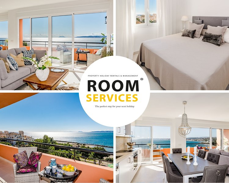 CP - Modern Beachside Apartment in Estepona, vacation rental in Estepona