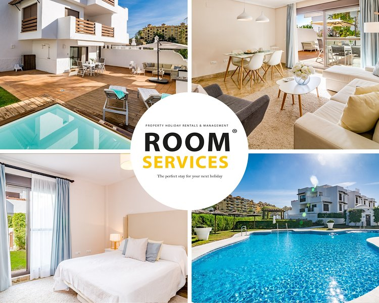 GH-Modern 2 bed apartment with Pool in Estepona, vacation rental in Estepona