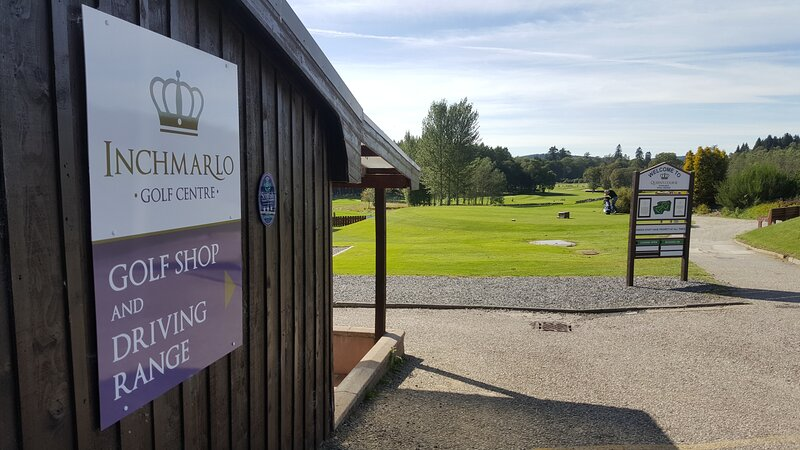 golf shop and driving range which has 20 covered floodlit bays.