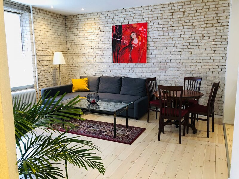 Adnana - Central cozy and bright apartment, holiday rental in Gistrup