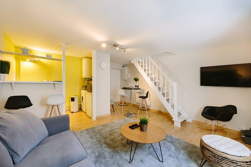 Le Trendy - Charmant Duplex, aluguéis de temporada em Saint Herblain