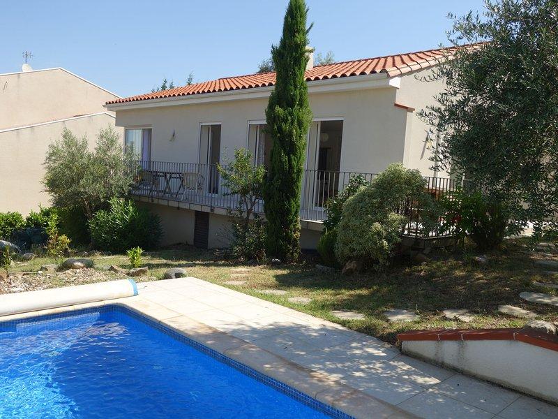 Villa Montes, holiday rental in Montesquieu des Alberes
