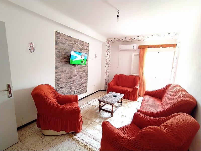 Appartement en location touristique courte durée, alquiler vacacional en Argelia