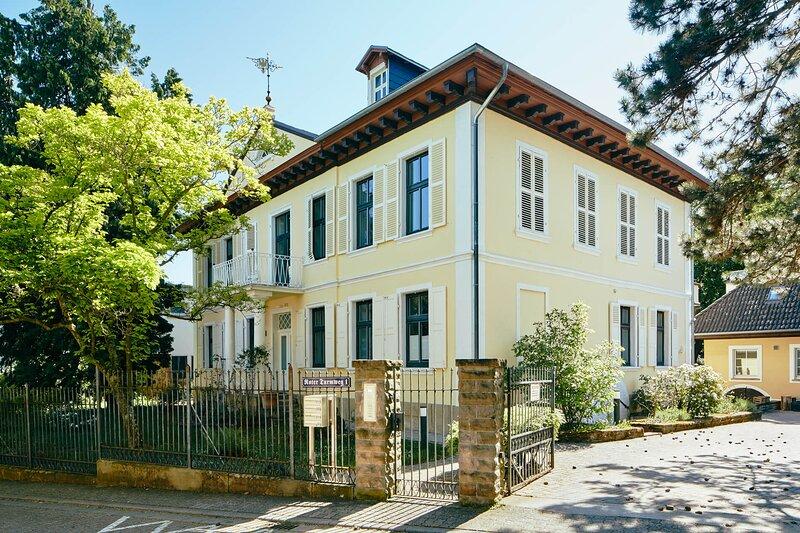 Villa Ludwig 1826 Böhlig, holiday rental in Frankenthal