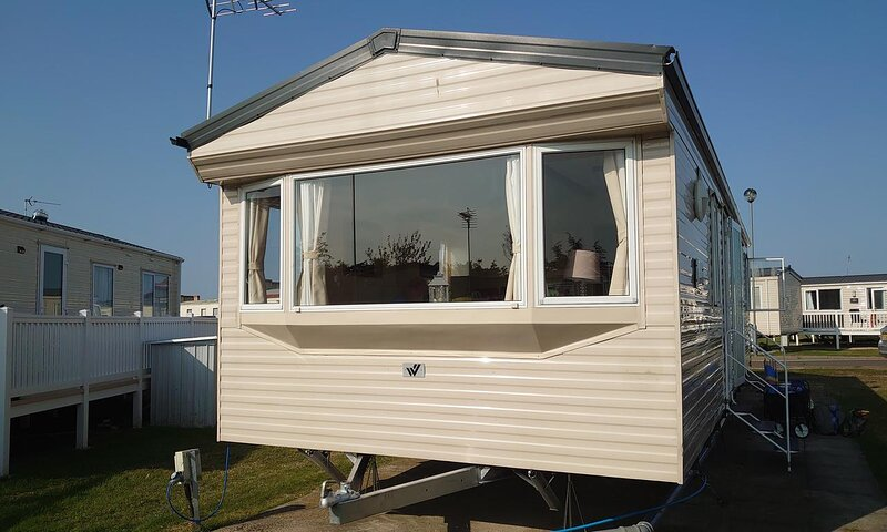 8 berth caravan for hire at Naze Marine holiday park ref 17015D, vacation rental in Frinton-On-Sea