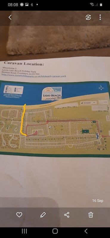 Beach path in yellow
