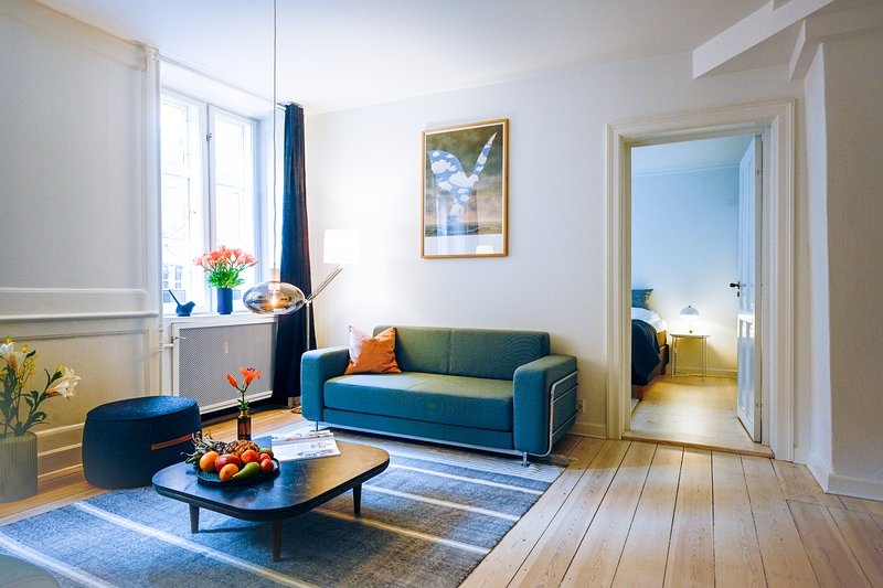 Cozy two-bedroom apartment in Copenhagen Osterbro, holiday rental in Gentofte Municipality
