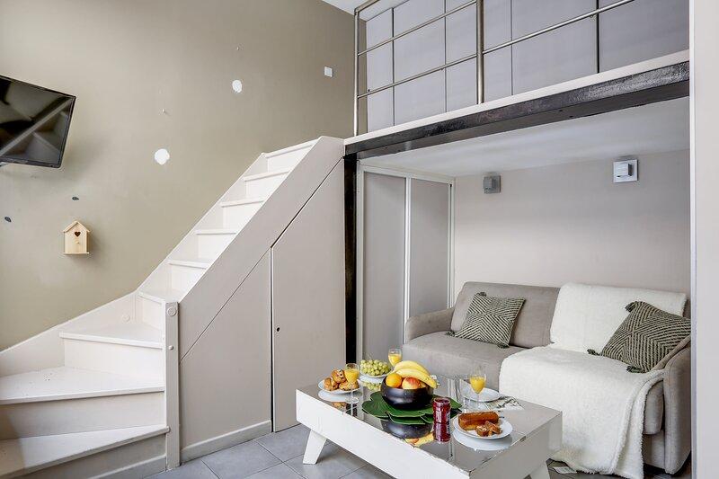 Joli studio rempli de charme au coeur du Marais., aluguéis de temporada em Paris