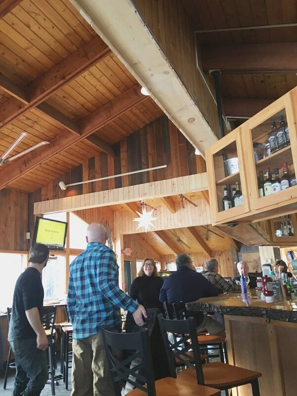 Ski Chalet; live music on Weekends