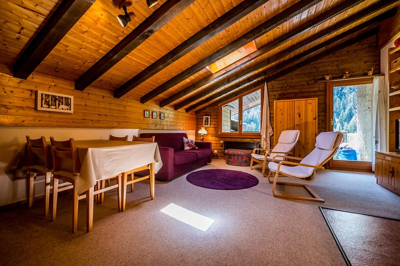 Cozy apartment in the centre of Grimentz, vacation rental in Grimentz