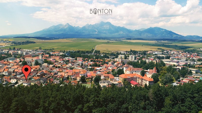 Bonton Apartments | Your home under High Tatras, holiday rental in Velka Lomnica