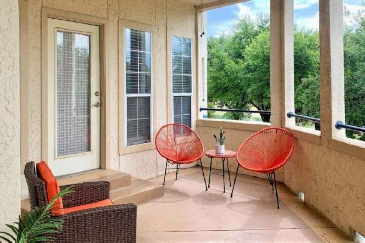 Private patio - the perfect spot for that morning cup of coffee