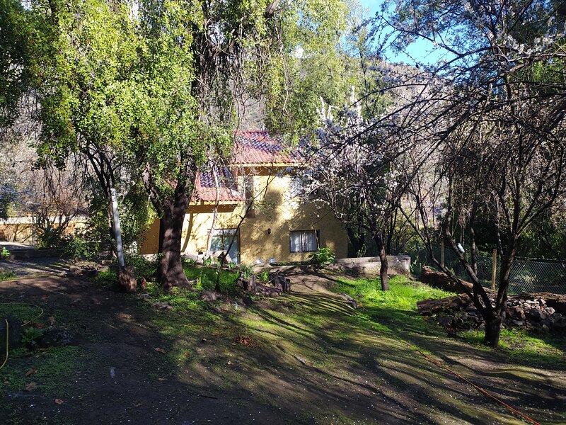 Refugio Coyoacan, Espacio de reconexión con la naturaleza, holiday rental in San Jose de Maipo