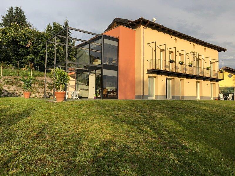 Casa San Grato, vacation rental in Montaldo Roero