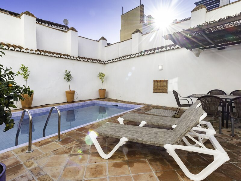 House with private pool and Andalusian style – semesterbostad i Pinos del Valle