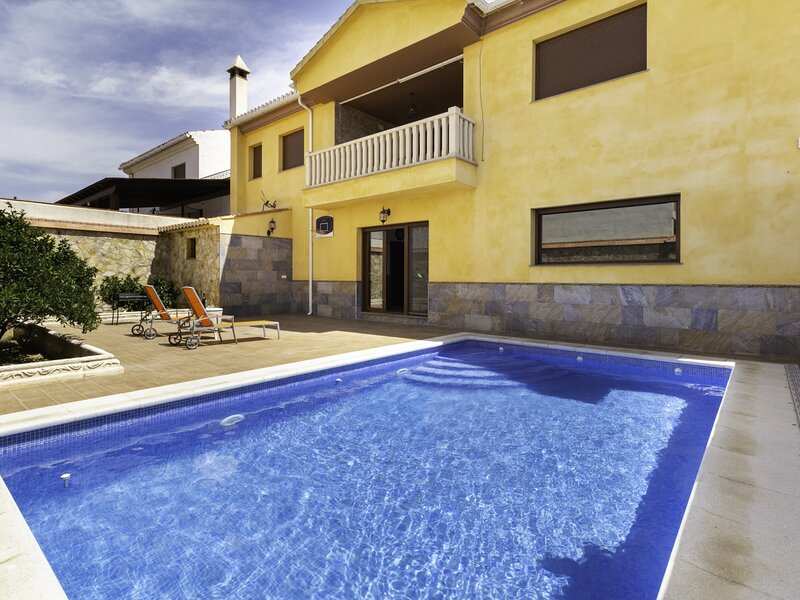 Apartment with terrace and private pool, holiday rental in Niguelas