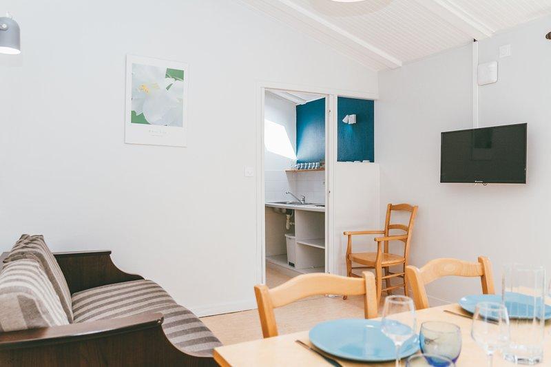 Maison 6 Personnes proche Rochefort en Terre, location de vacances à Questembert