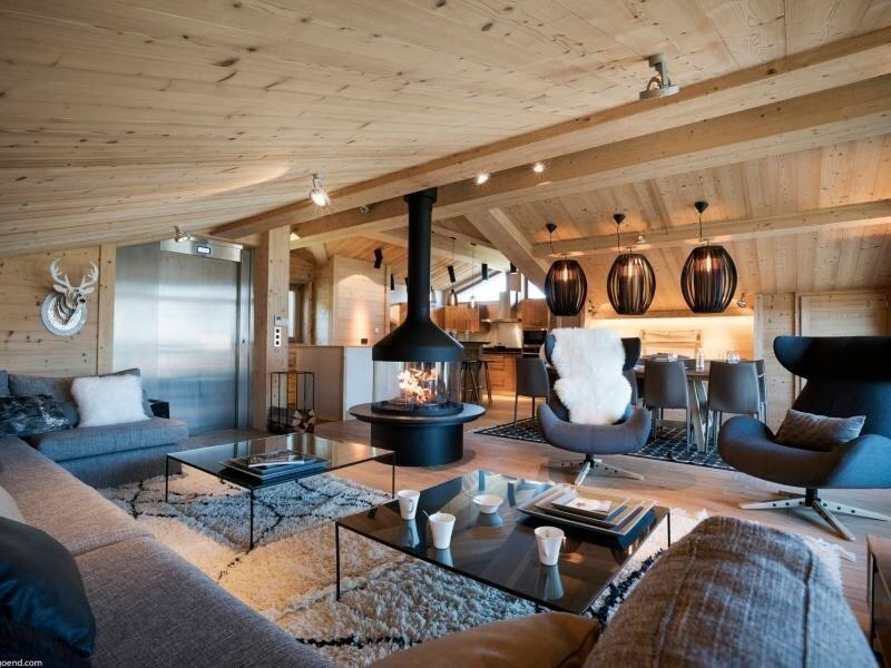Courchevel Village - Sophistiqué, élégant et spacieux, 10 personnes, coup de, holiday rental in Saint-Bon-Tarentaise