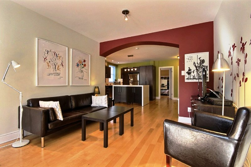 #345 Spacious, Open Concept APT in Outremont, holiday rental in Mont-Royal