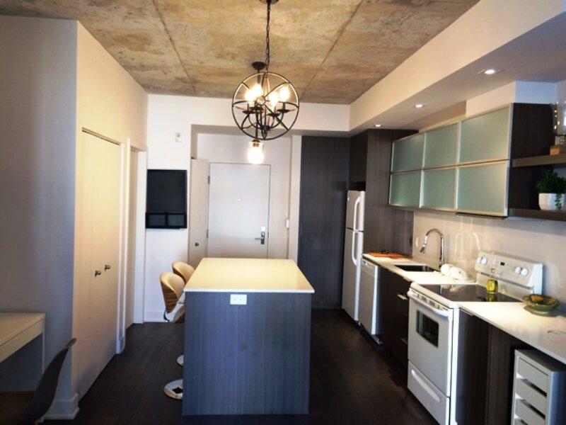 #384 Modern, Tastefully Furnished APT in Cote-des-Neiges, holiday rental in Cote Saint-Luc