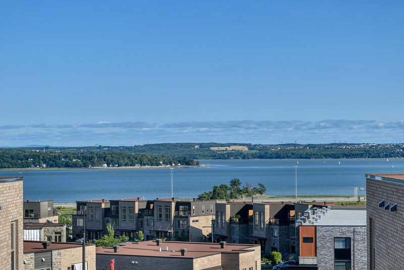 #634 - Condo with View on St-Laurence River in Beauport, alquiler de vacaciones en Stoneham-et-Tewkesbury
