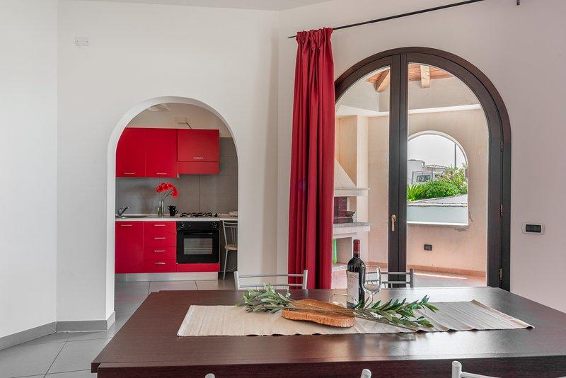 Villa per 6 persone Vista Blu Resort, holiday rental in Villanova Monteleone