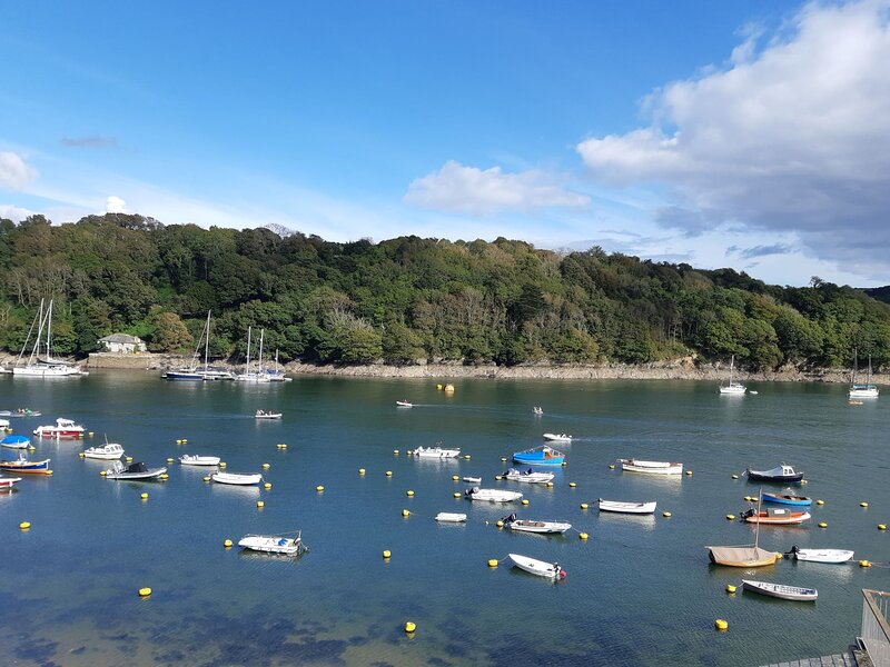 HOLIDAY APARTMENT IN FOWEY WITH PARKING SPACE, alquiler vacacional en Fowey