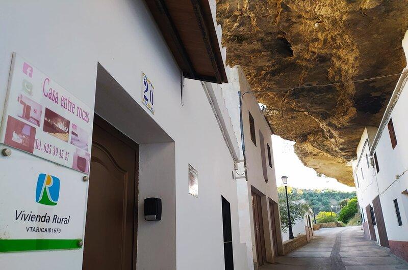 Casa entre Rocas Setenil, alquiler de vacaciones en Setenil de las Bodegas